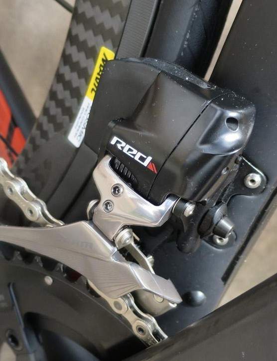 SRAM Red eTap is fast becoming the default groupset for showcase bikes