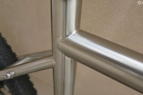 The weld quality is shown here at this incredibly neat seat tube junction