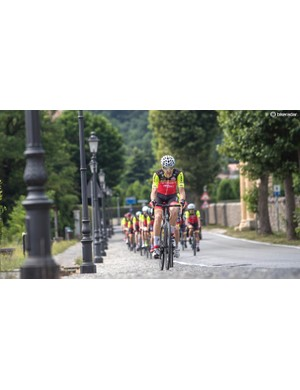 The Cento10NDR was very, very smooth over moderate sized cobbles