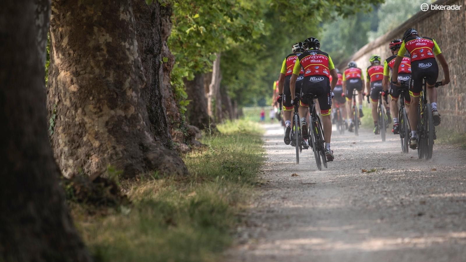 The Cento10NDR was exceedingly comfortable over the loose gravel sections