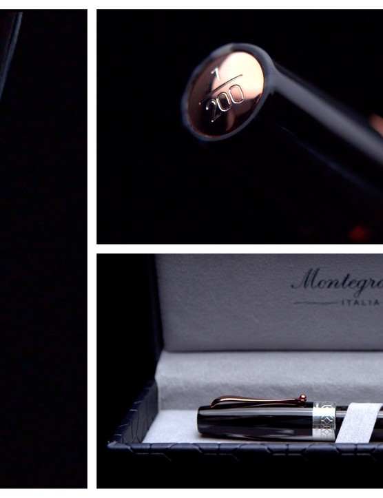 A special edition Montegrappa pen will be given out with each Zero.6 sold