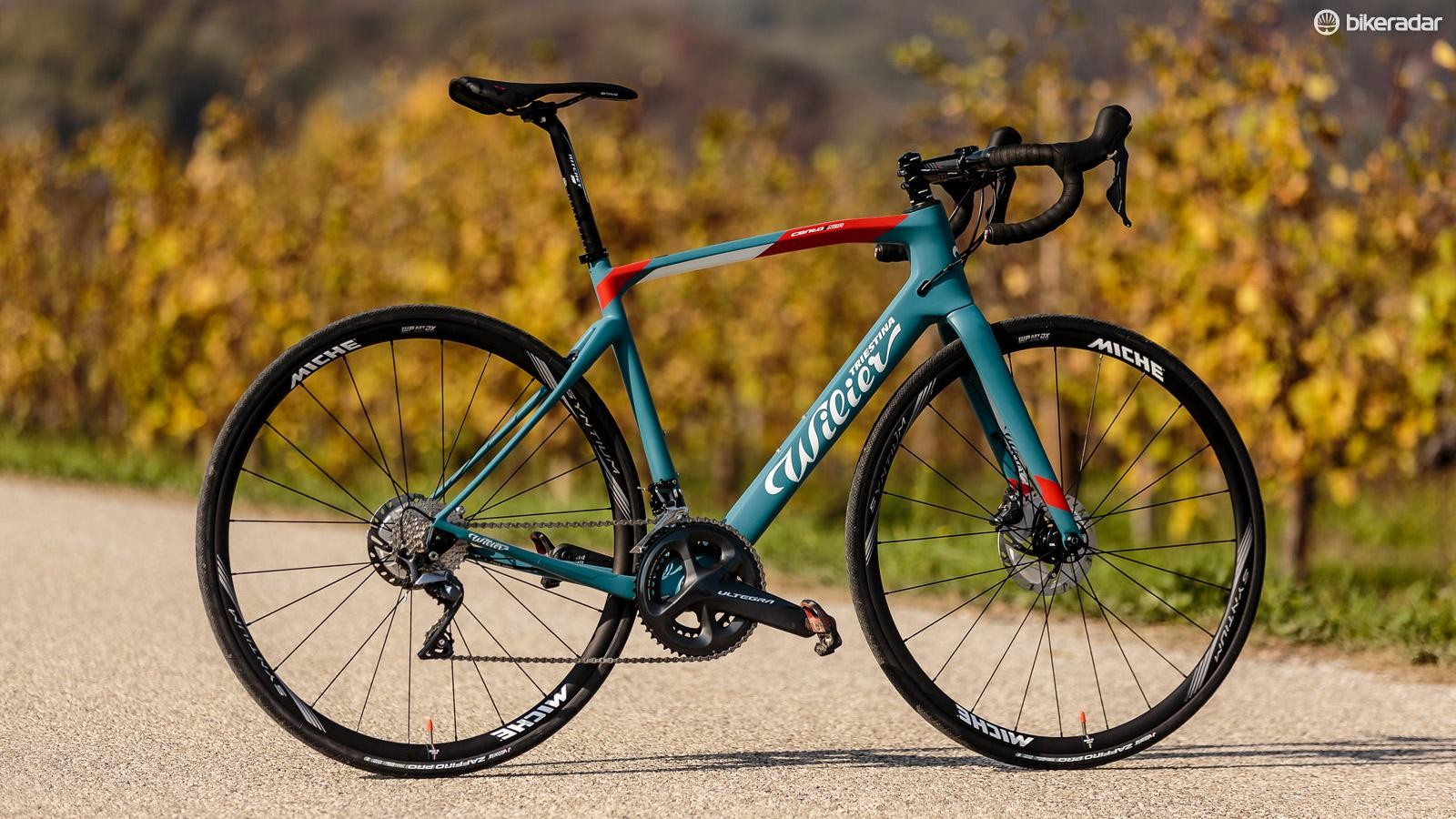 The top-of-the-line Ultegra Di2 bike will set you back €5,200