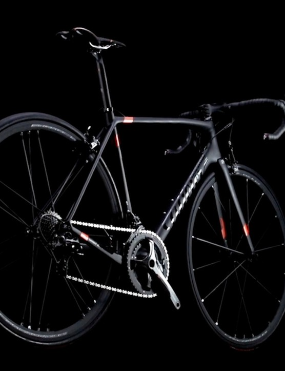 The extremely limited edition Wilier Zero.6 bicycle: only 200 are available
