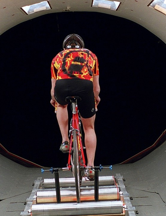 Specialized believe dynamic simulations of races, done in wind tunnels, are an interesting area