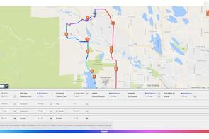 Mywindsock.com combines weather data with Strava segments