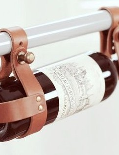 If they like a tipple after a bike ride, they'll love this fancy wine bottle holder
