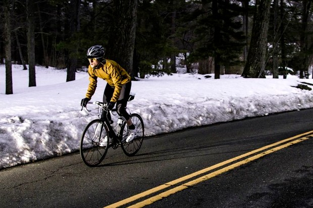 Riding in winter can be exhilarating, but make sure you stay safe