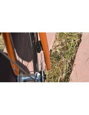 Disc brakes make wheel removal one step easier