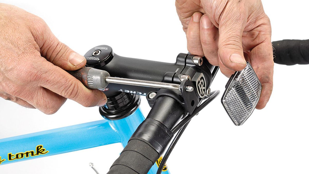 Fit some reflectors – many bike shops will sell their spare ones to you at a knock-down price