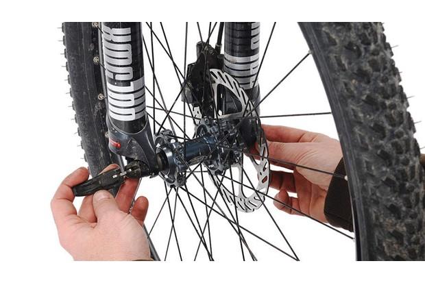 Step 7: remove axles