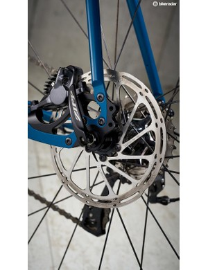 With custom builds available there are a number of disc brake fitting styles to choose from