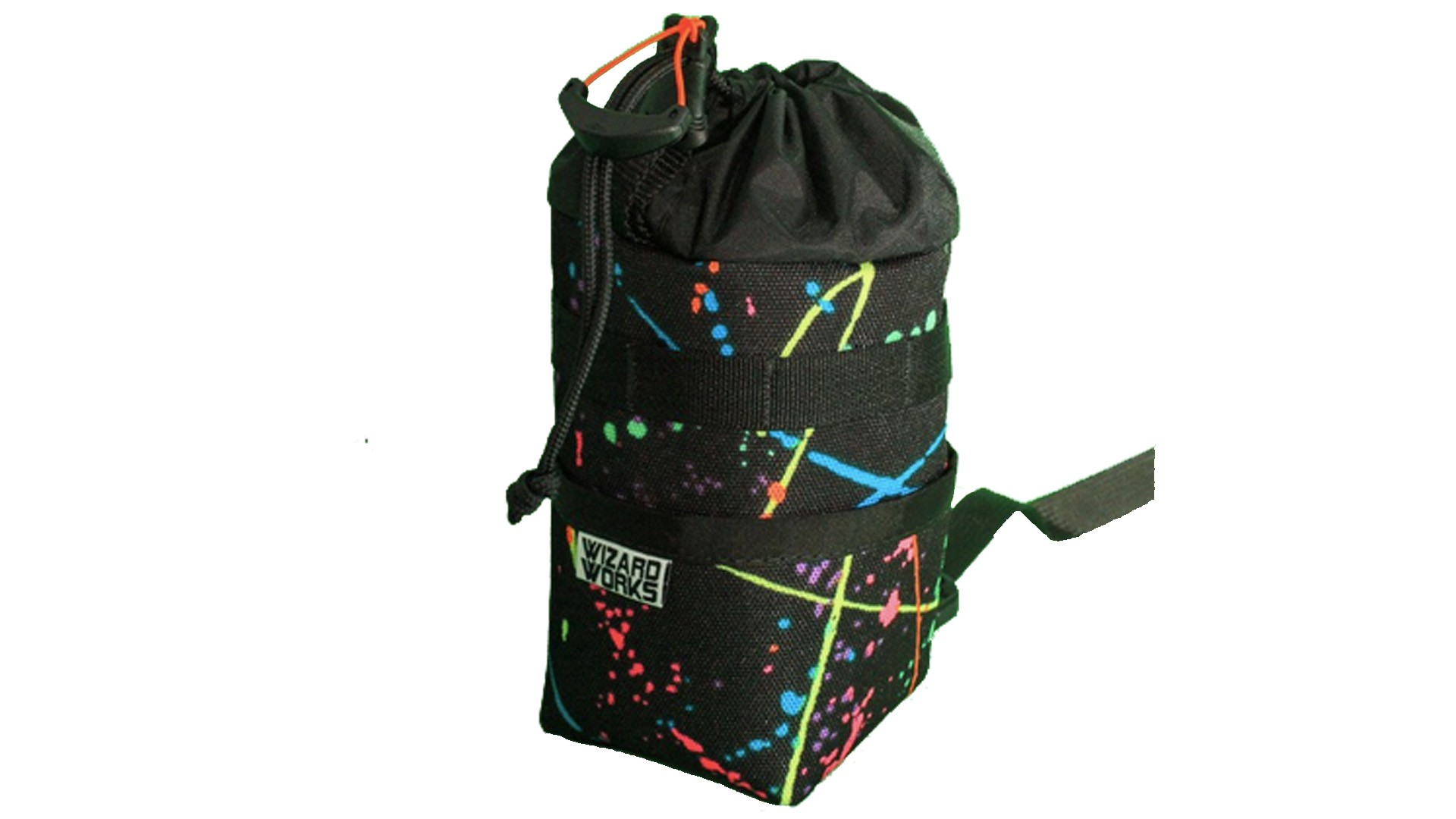 We love the splatter pattern on this version of the bag, but there are plainer colours available