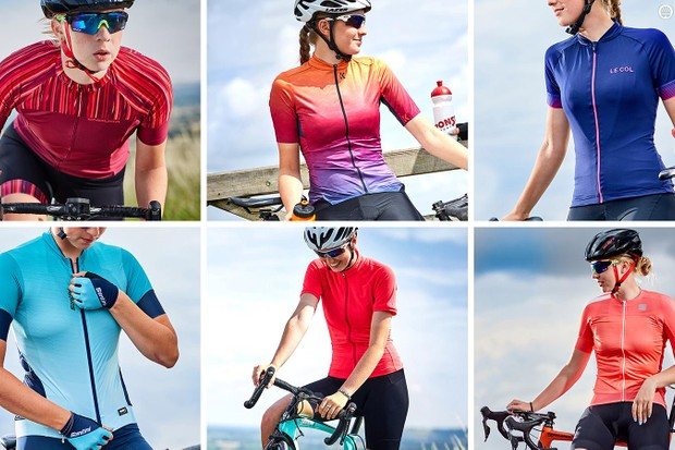 Bright, comfortable, good-looking cycling jerseys make summer riding that little bit more enjoyable