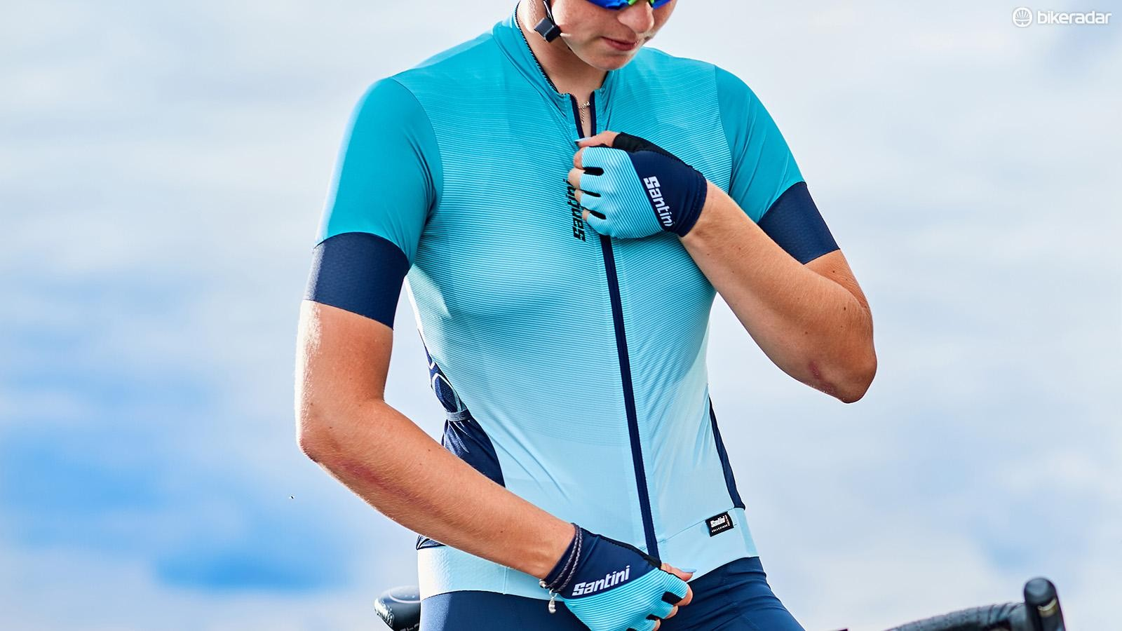 A race-fitted performance jersey that lives up to its price tag