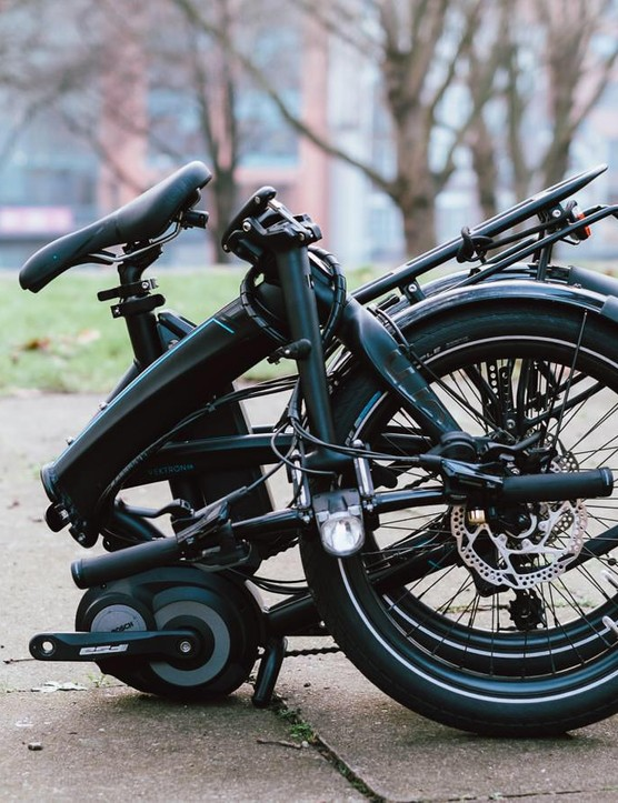 It's a fold-E bike!