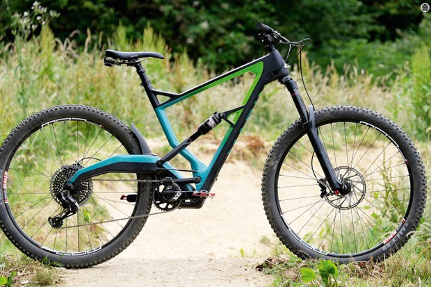 The Wolf Ridge looks very different to every other bike out there, but its unique suspension has pros and cons