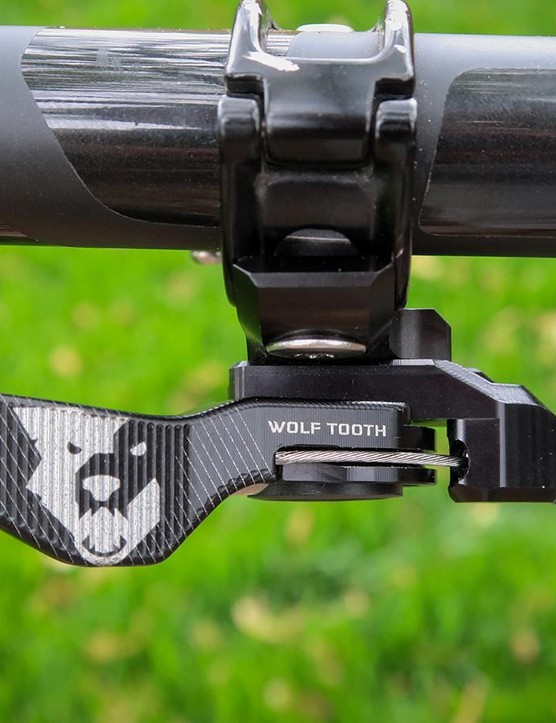 Wolf Tooth's ReMote is a worthy upgrade for any cable-operated dropper
