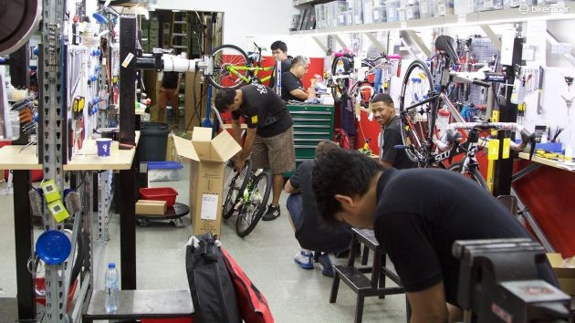Most online retailers will set up your new bike before boxing it back up to be shipped out