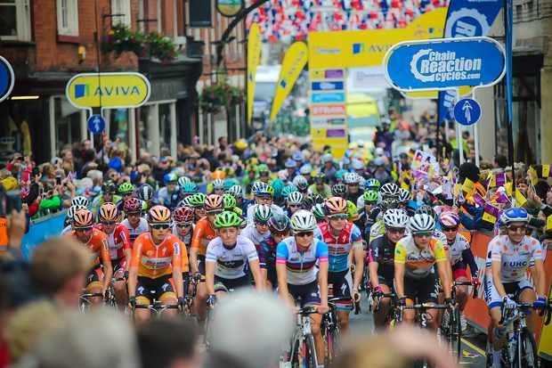 Women's Tour riders