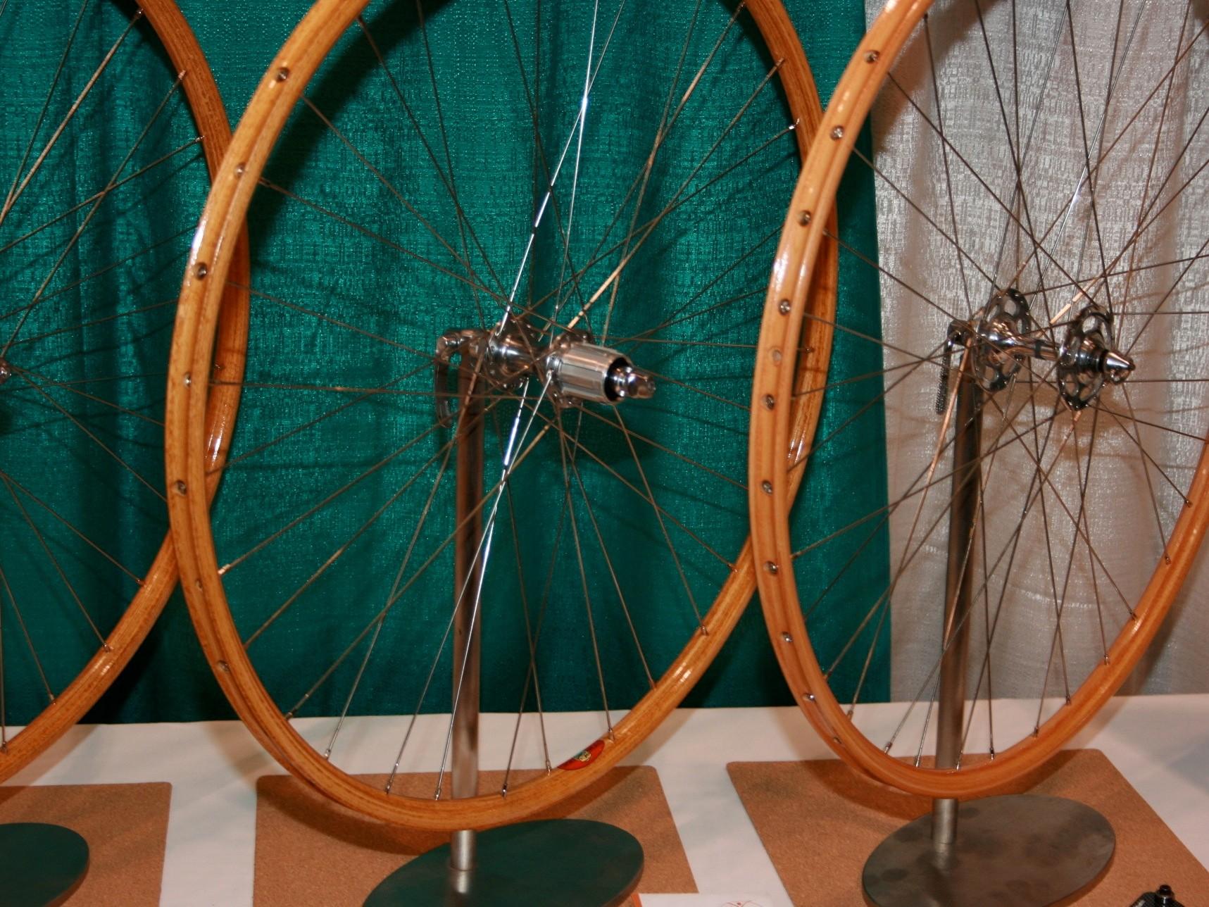 Italian wooden rims - NEW, not old stock.