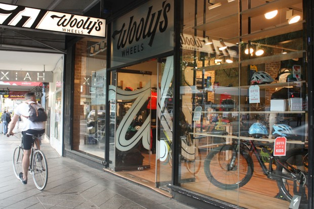 The new Wooly's Wheels on Oxford St, Sydney