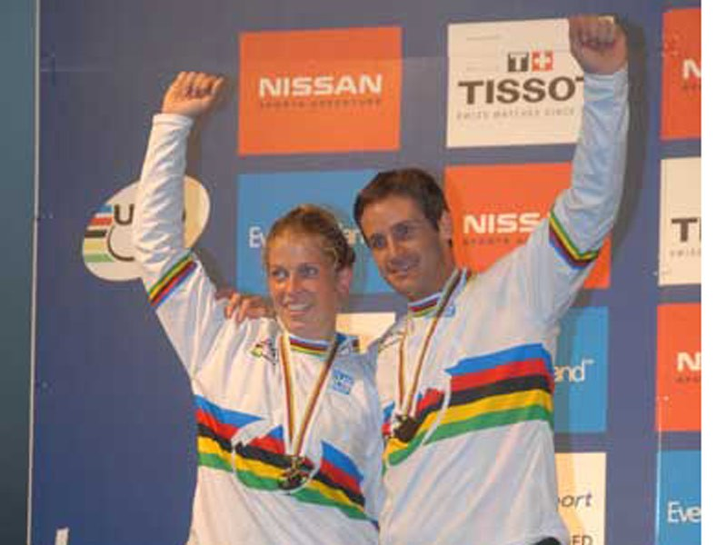 Lopes and Kintner: 2x 4X world champs