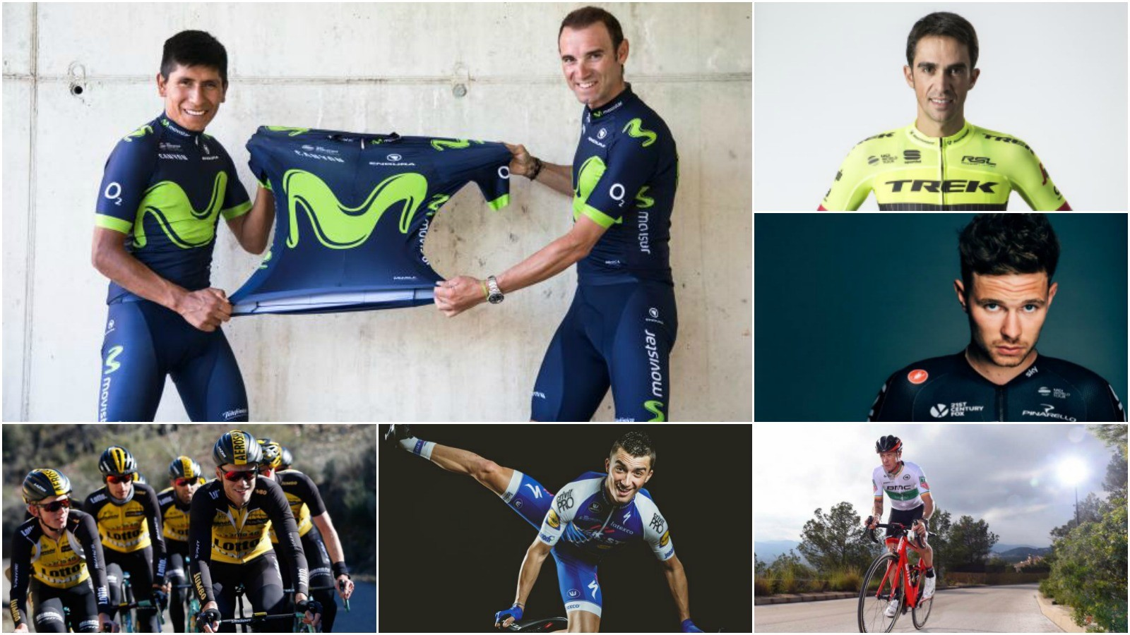 Many riders revealed their 2017 kit on Twitter shortly after the new year rolled in