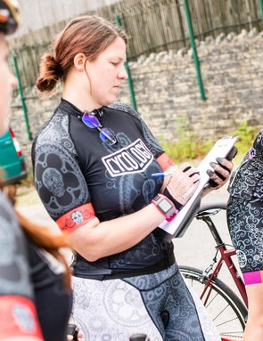 Aoife is crossing fingers and toes for dry weather for the women's road bike test this weekend