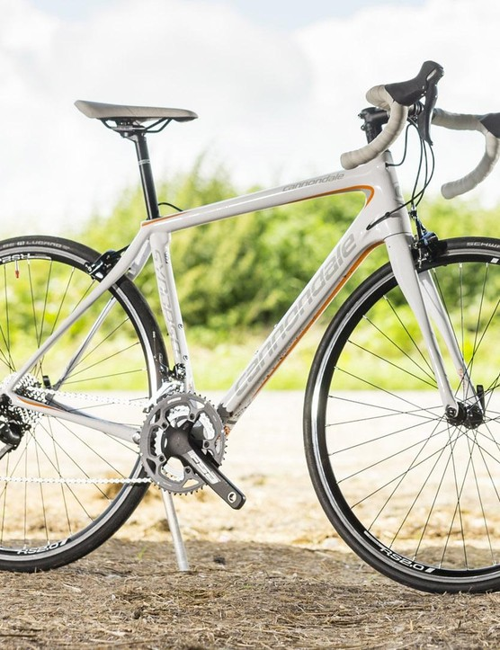 The Cannondale Synapse Tiagra 6 women's road bike