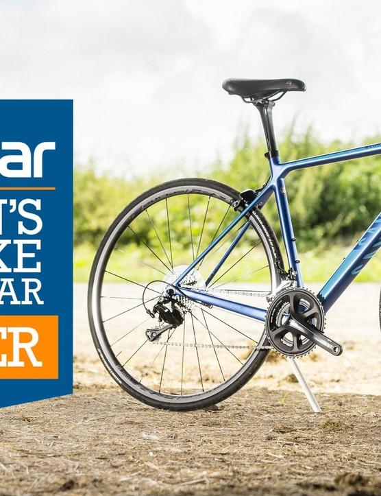 The category winner! The Canyon Endurace DF 8.0 WMN