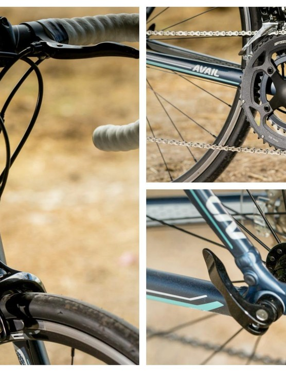 The Liv Avail 1, our category winner, has some interesting features including the cross top brake levers