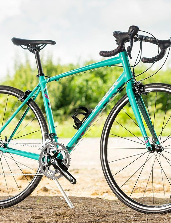 The Trek Lexa S women's road bike impressed with its handling, but poor brakes let it down