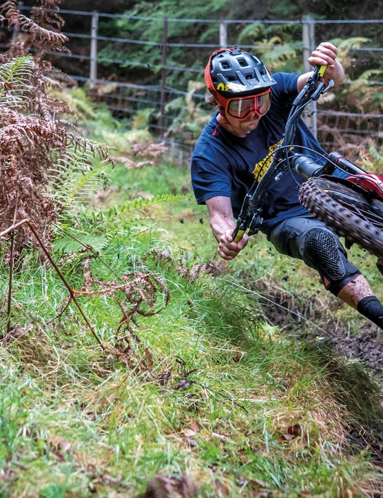 The Dudes of Hazzard show the team around their home trails at the Nevis Range