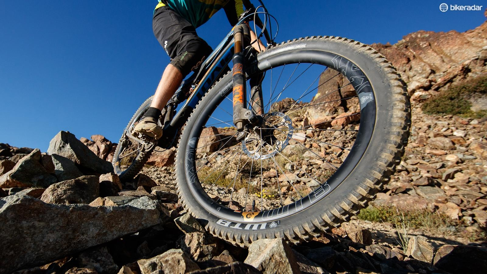 WTB's new Ci31 rim is suitable for trail riding or enduro racing