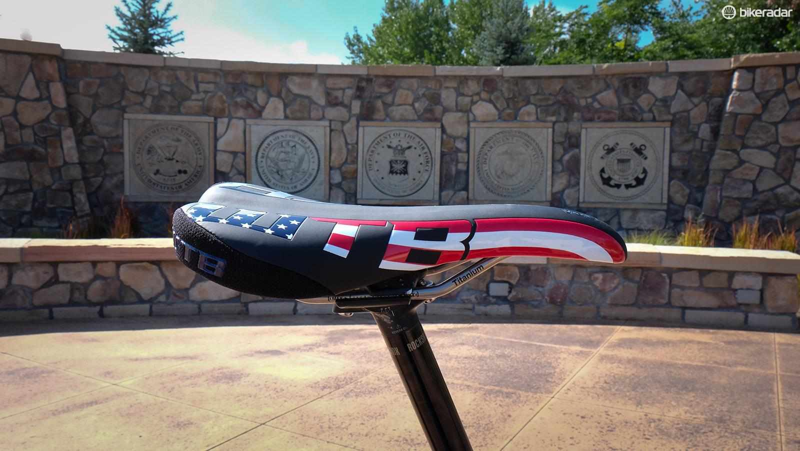 WTB is releasing a limited edition of the popular WTB Volt saddle to support wounded veterans