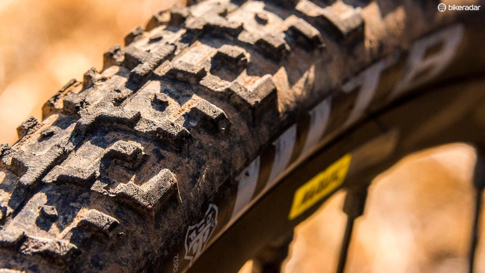 Plenty of widely spaced knobs make the Nano 40c a great tire for monster-cross adventures