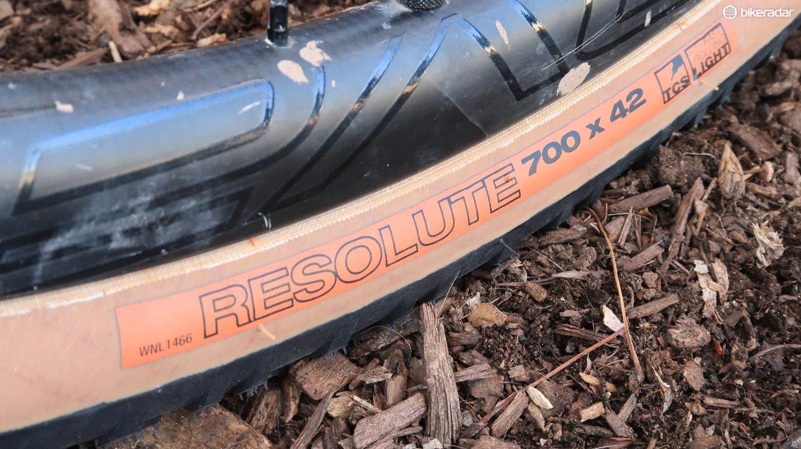 The Resolute measures slightly larger than the stated 42mm width on many rims