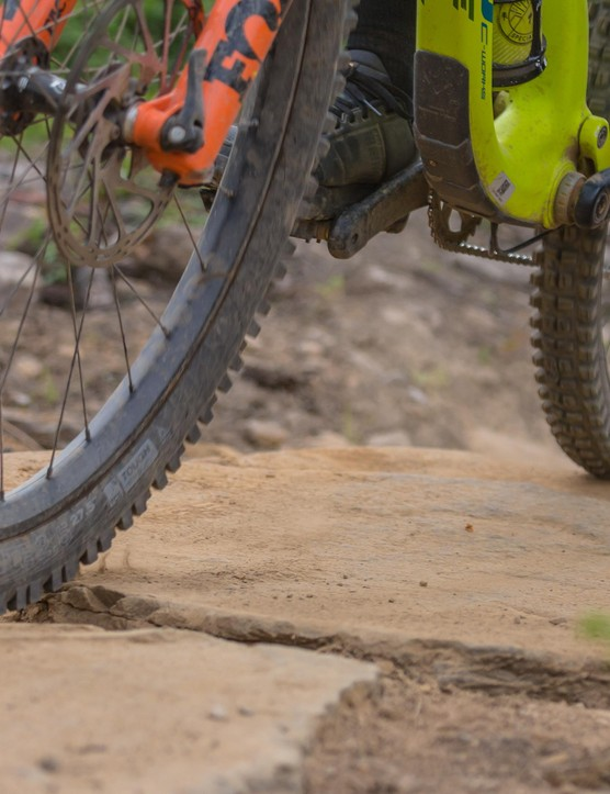 Our man Rob Weaver hit some of the more unforgiving trails at Bikepark Wales to put the new tyres and rims to the test