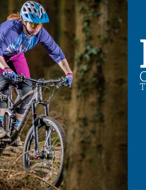 The Canyon Spectral WMN takes the Women's Trail Bike of the Year title
