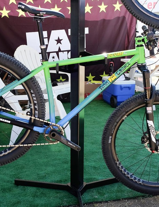 Speaking of blasts from the past, Fat Chance is back with an updated 27.5+ hardtail