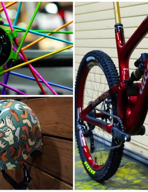 Here's a look at the weird and wonderful things we saw at Interbike 2017
