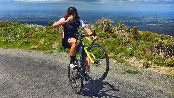 Every type of bike sees back wheel action under wheelie superstar Wyn Masters