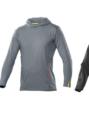 From left: Crossride jersey, Crossride hoodie, and Crossmax Pro rain jacket