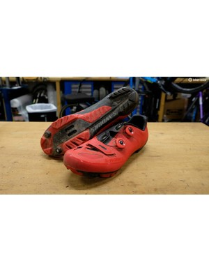 Specialized's S-Works XC MTB shoes