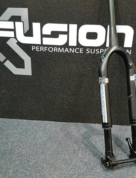 We got a sneaky look at X-Fusion's prototype gravel fork