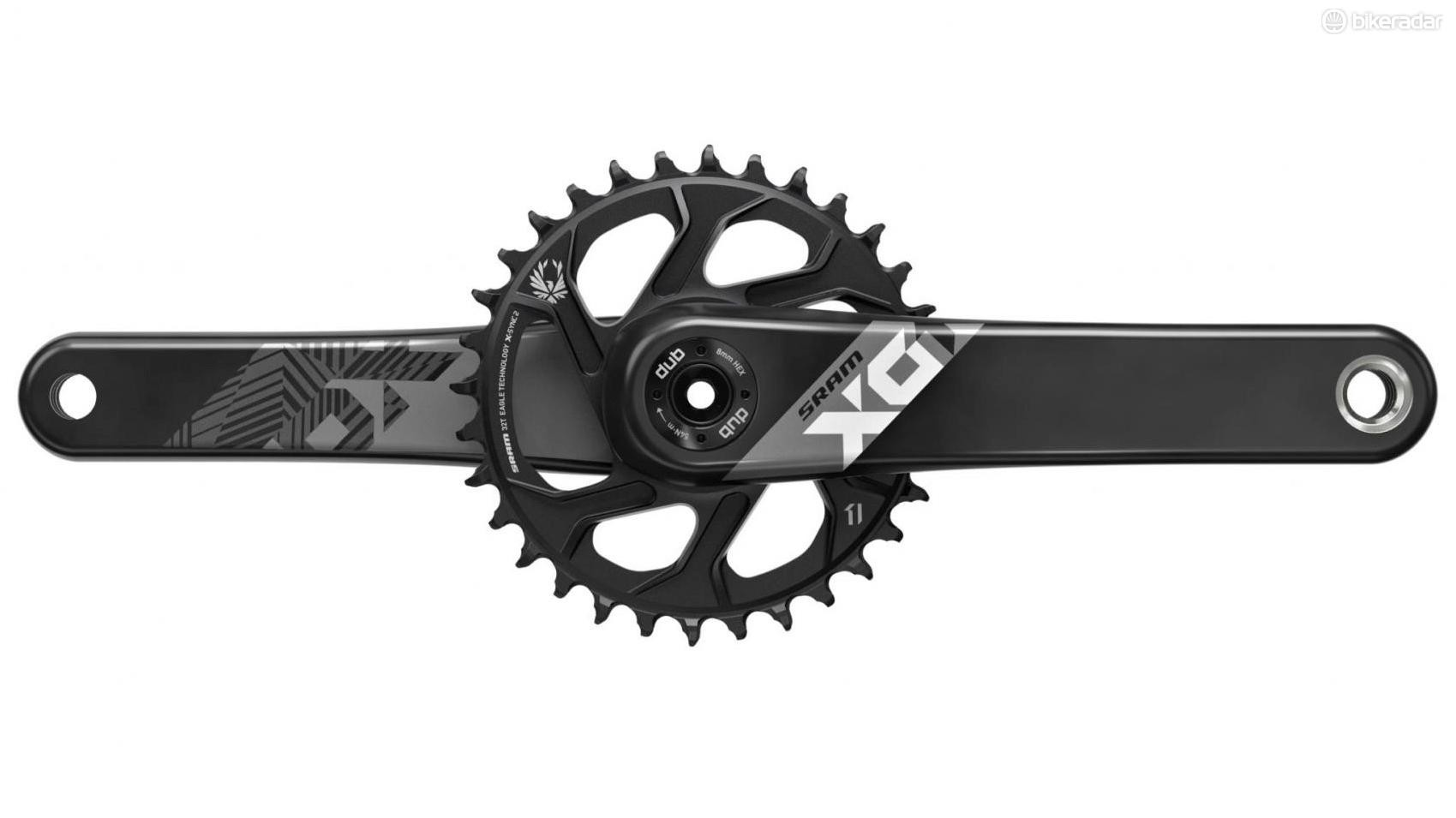 The X01 crank should appeal to trail and enduro riders