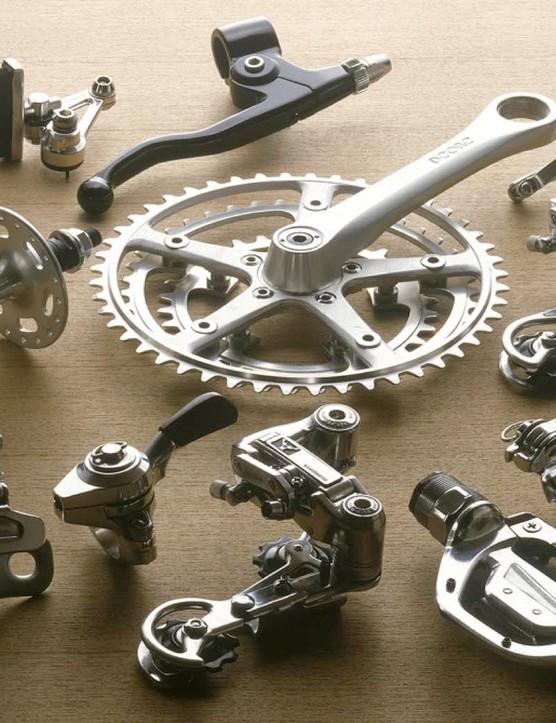 Shimano XT from 1991, the original mountain bike groupset