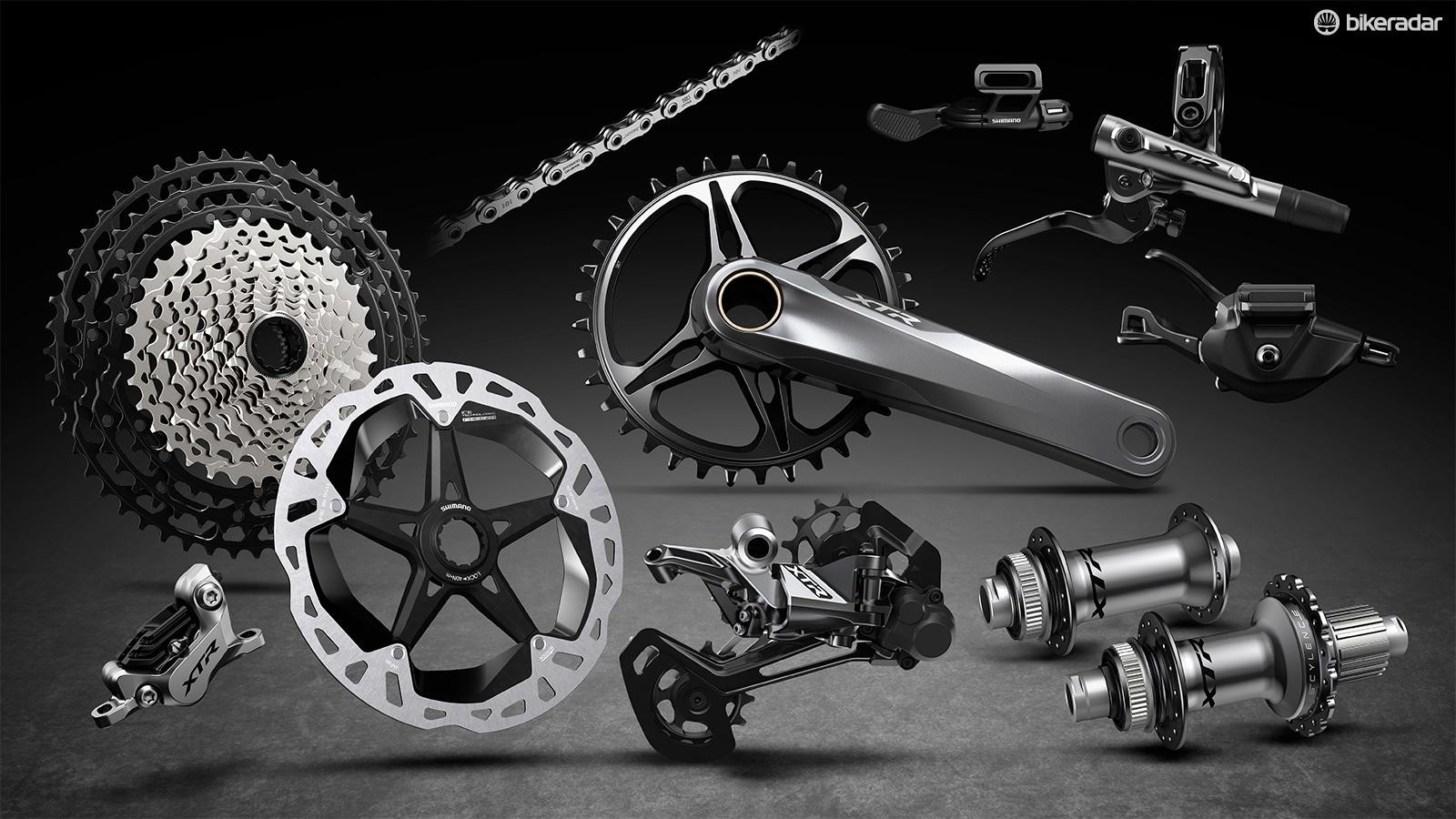 The latest Shimano XTR group has a wealth of drivetrain options to choose from