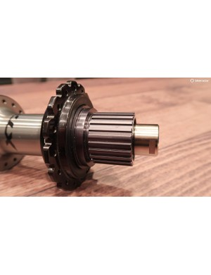Shimano's new Micro Spline freehub