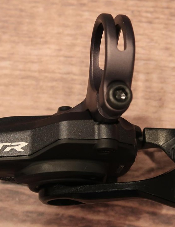 Shimano made subtle refinements to the XTR shift levers